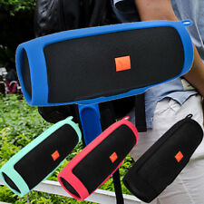 For JBL charge3 Bluetooth Speaker Portable Mountaineering Silicone Case 4 Colors