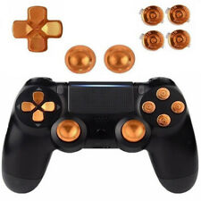 MagiDeal ABXY Buttons + Thumbstick + Chrome D-pad Mod Set for PS4 Controller