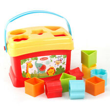 Children Enlightenment Educational Shape Matching Building Block Toy for Gifts
