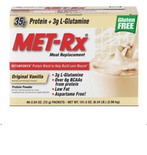 MET-Rx Meal Replacement 38 Grams of Exclusive METAMYOSYN Protein 40 Packets