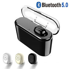 Bluetooth 5.0 IPX7 Headset TWS Wireless Earphones Mini Earbuds Stereo Headphones