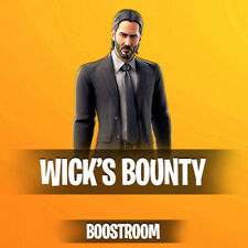 Fortnite John Wick's Bounty Challenges Boost