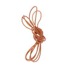 1m Leather Round Rope String Cord Necklace Kumihimo Jewelry Findings DIY Lot
