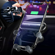 Auto Grip Car Air Vent Gravity Mount Phone Holder Stand For iPhone XS X Samsung