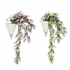 31.5'' Artificial Lavender Vine Flowers Garland Ivy Plants Hanging Nice For #WHH