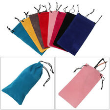 Soft Eyeglasses Pouch Sunglasses Bag Glasses Cloth Bags Drawstring Pouch Bags
