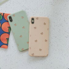 For Apple iPhone Xs Max XR 7 8 6S Plus Cute Bear Soft Silicone Phone Case Cover