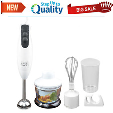 Hand Blender Immersion Stick Electric Chopper Hand Held Mixer Electric 4 in 1Set