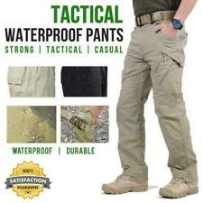 Soldier Men's Tactical Waterproof Pants Men Cargo Climbing Pants Quickly Dry New