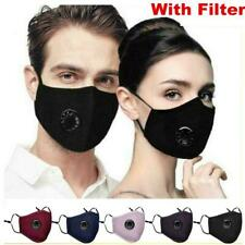 Air Purifying Masks Carbon Filter Cotton Mouth Muffle Anti Haze Fog Respirator