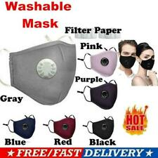 Air Purifying Masks Carbon Filter Cover Mouth Muffle Anti Haze Fog Respirator