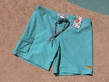 ROXY SWIM BOARD SHORTS SZ 3 PINK, TEAL, WHITE or BLACK