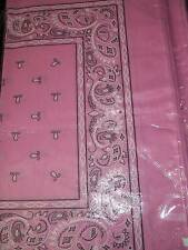 Pink Lot wholesale 1 dozen 12 Bandanas head wrap scarf
