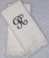 12 Personalized Monogrammed Fingertip Guest Towels