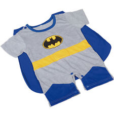 Batrman Superhero Baby Infant Boy Romper Fancy Costumes Outfit Size 3m-24m FC015
