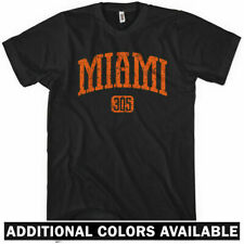 Miami 305 T-shirt - Beach Florida Dolphins Canes Heat Hurricanes Tee - XS to 4XL