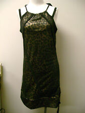 Christian Audigier Ed Hardy Leopard Dress  NWT $118