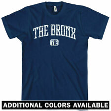 THE BRONX T-shirt - Area Code 718 - New York NYC XS-4XL