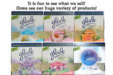 2 GLADE Plugins Scented Oil REFILLS Fit AIR WICK Warmer Fast Shipping