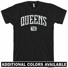QUEENS T-shirt - Area Code 718 - New York NYC XS-4XL