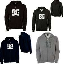 DC Shoes Mens Star Zip Logo Hoodie Sweatshirt NEW