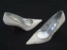 STEVE MADDEN LILIANA WHITE WEDDING BRIDAL LADIES DRESS HEELS FORMAL SHOES NEW