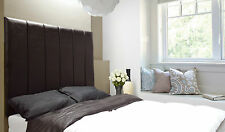 Hutt Wall Fixing High Bed Headboard Faux Leather All Sizes & Colours