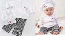 6-24M Baby Party Costume- Fancy Dress Character Professional Chef /Cooking w Hat