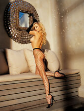 Sexy HOT Shirley of Hollywood #96627 Fetish Fishnet Pantyhose Black Red White