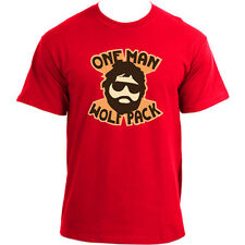 One Man Wolf Pack The Hangover Movie Funny T-Shirt