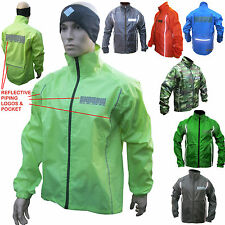 Cycling Rain Jacket Waterproof Hi Viz Cycle running sculling equestrian rowing