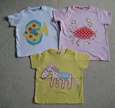 Mini Boden Baby T Shirt Top 3 6 12 18 24 months 2 3 4 years horse crab or fish