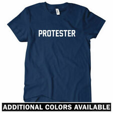 PROTESTER Women's T-shirt - Anarchy Riot Occupy Wall Street Protest Greed  S-2XL