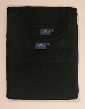 2x Tom Tailor Herren Tanktop Gr. M L XL XXL 50 52 54 56 Tank-Top Double Rib