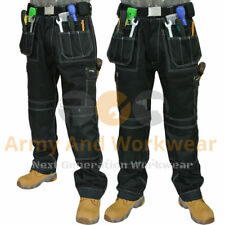 Work Trouser Workwear Multi Pocket Tough Trade Extreme Pro Pants Tripe Stitched