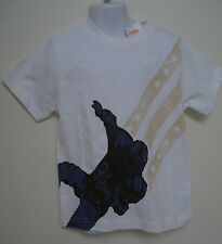 GYMBOREE BOYS WHITE SPY GUYS FOOTBALL SHIRT SIZE 4 NWT