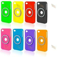 Fits iPhone 4 4G 4S Case - Silicone Gel Back Cover - New Stylish Camera Series