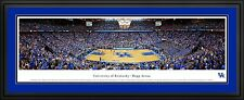 NCAA Basketball Double Matted Deluxe Framed Arena Panoramic 12 TEAMS - NEW