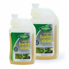 250ml 1 litre INTERPET BARLEY STRAW EXTRACT GREEN WATER BLANKETWEED POND CARE
