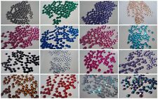New 2mm or 4mm Rhinestone Gems Round Faceted Acrylic Gem Nail Art Nails Crafts