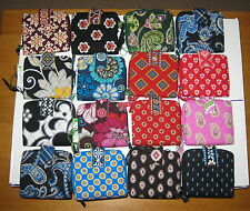 VERA BRADLEY MINI ZIP WALLET CHOICE RETIRED PATTERNS NWT!!