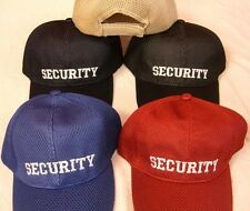 NEW ASSORTED COLOR MESH TOP SECURITY EMBROIDERED BASEBALL STYLE HAT ball cap A93