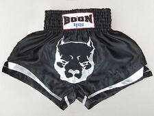 Boon Muay Thai Pit Bull Pitbull Shorts Kick Boxing Kickboxing Black