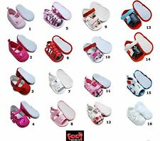 Girls Boys Baby Various Colours Formal Casual Shoes and Sandals 0-18m *Cheap* £6