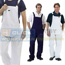 Bib And Brace Painters & Decorators Overalls Coveralls Dungarees Mens Work DIY