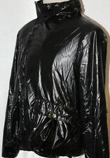JUST CAVALLI ROBERTO CAVALLI  RAINWEAR COAT JACKET SIZE 48 BLACK ,50 BLUE  $500