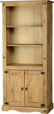 Bookcase Shelving Display Cabinet Cupboard Solid Pine Furniture Mexican Corona