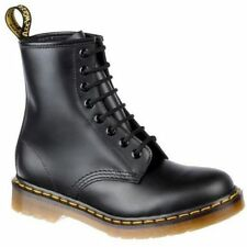 Dr Martens original 1460 boots with yellow stitch Unisex 8 Eyelet