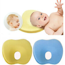 SOFT MEMORY FOAM BABY INFANT CHILD PILLOW SLEEPING HEAD SUPPORT ANTI FLAT HEAD