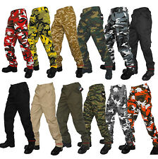 US M65 STYLE TROUSERS COMBAT CARGO PANTS FATIGUE BDU MILITARY ARMY WORK SECURITY